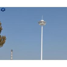 Octagonal 25m Galvanized Electric High Mast Lighting Steel Pole