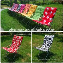 Cadeira de sol de praia dobrável de tecido moderno