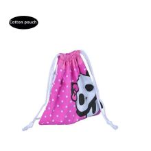 wholesale cotton favour bags with dots gifts