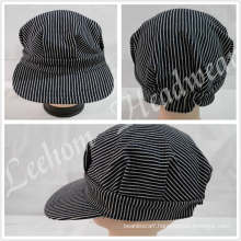 Fashion Train Engineer Military Cap with Embroidery