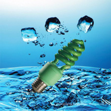 9W Green Color CFL Lamp Energy Saver with CE (BNF-G)