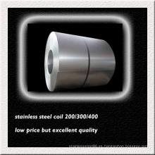 Bobina de acero inoxidable AISI 316L para la fabricación de tubos intercambiadores de calor