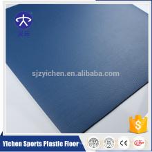 plancher anti-dérapant de bureau de PVC de haute résilience
