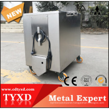 restaurant stainless steel parts cleaning soak tank