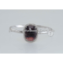 925 Sterling Silver Sapphire Gemstone Bangles available in Wholesale