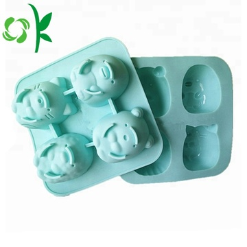 Silicone 4Cake Mold Cute Cartoon bakvorm