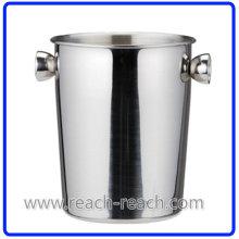 Cubo de hielo de cubo 3L acero inoxidable (R-IC0135)