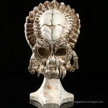 Artisanat en résine artificielle Crânes Apex-Predator Décoration de maison et de vacances