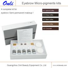 Микро-пигментные наборы для макияжа