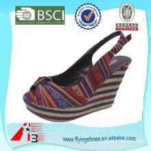 [Hot Sale]fashion new design high heel ladies sandal shoes