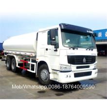 Caminhão tanque diesel de óleo combustível de 10 rodas de 336 hp