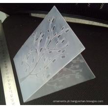 Decoração home DIY produto gravando pasta para scrapbooking