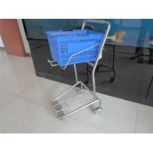 Supermarket Basket Trolley Plastic Basket Cart