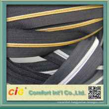 3# and 5# Silver/Gold zipper rolls