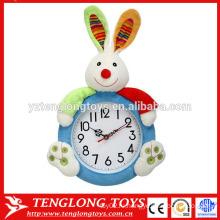 OEM Индивидуальные плюшевые часы крышки плюшевых животных крышка часов кролика формы плюшевые покрытия