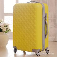 Sacs en plastique de bagage de chariot à voyage dur d'ABS