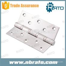 RH-101 4 dobradiça da porta de aço inoxidável BB
