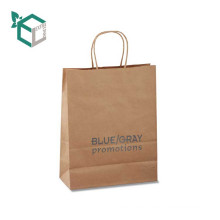 Wholesale Recycled Paper Bag Flat Handle For Sale