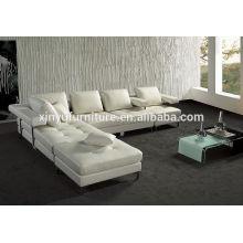 White comfortable living room sofa corner sofa KW359