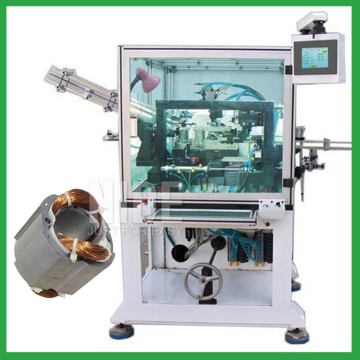 Fully automatic multi poles BLDC motor stator needle winding machine