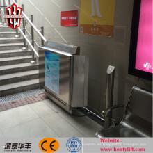 elevador de silla de ruedas inclinado / elevador eléctrico silla de ruedas / asistente discapacitado elevador de ruedas elevador de ruedas elevador
