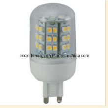 Luz LED G9 3528SMD con CE y Rhos