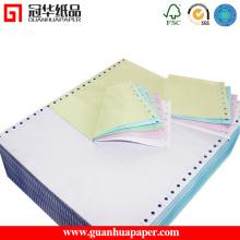 9,5 '' * 11 '' et 15 '' * 11 '' Multi Ply Computer Continuous Paper