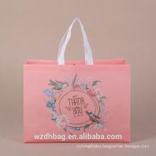 Best Selling Fashion Bag Eco-Friendly Handled Non Woven Bag Cloth Shopping Bag
