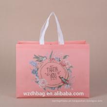 Melhor saco de compras não tecido de Eco-Friendly