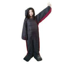 Outdoor Camping Or Indoor Home 3 Season Human Shape Clothing Cotton Humanoid Wearable Sleeping Bag