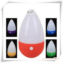 Tumbler LED Camping Lantern con gancho para la promoción
