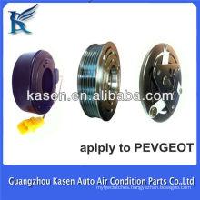 Hot sales 12v 6pk ac car compressor clutch for Pevgeot T 206/307