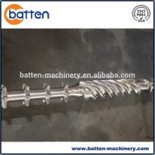 Barril de un solo tornillo 60/36 para extrusora de tubos de PE