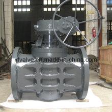 Промышленный фланцевый соединительный запорный клапан с шестерней
