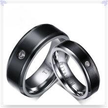 Joyería de moda accesorios de moda de titanio anillo (tr107)