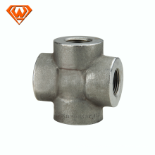 cl3000 forged a105 pipe fittings cross