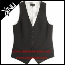Chaleco formal del chaleco del traje de la moda de la fábrica de China para las mujeres