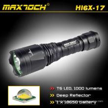 Maxtoch HI6X-17 Cree Led-wiederaufladbare Taschenlampe
