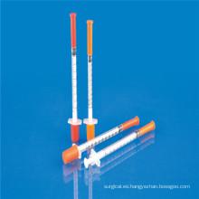 Jeringa Desechable Meidcal de Insulina con Ce