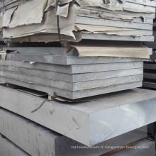 6063 Plaque en aluminium Feuille en alliage d'aluminium
