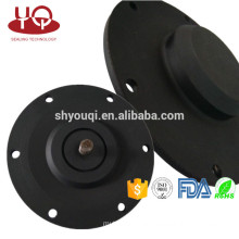Water Pump Valve Rubber diaphragm Fabric reinforced sealing diaphragm patch with metal Screw