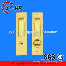 Hot Sale Europe aluminum/zinc die cast Door Handle Lock Set