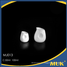 new product from guangzhou china crockery fine porcelain ceramic milk pot