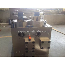 hydraulic logic valve manifold for 3000 ton die casting machine