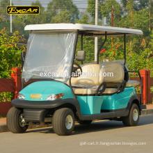 Chariot électrique de golf de sièges de la coutume 6 6v Chariot électrique de buggy de la batterie 48V de Trojan