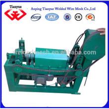 Rápido de acero inoxidable o alambre de acero galvanizado o al carbono enderezamiento y corte de la máquina