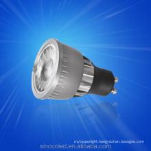 China Best 220V 12V 3W 5W CE ROHS MR16 GU10 COB LED Spotlight, COB Dimmable MR16 GU10 LED Spot Light