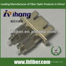 SC hembra FC macho adaptador de fibra dúplex