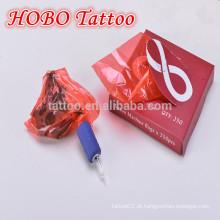 Atacado tatuagem acessórios descartáveis plástico vermelho tatuagem máquina sacos suprimentos