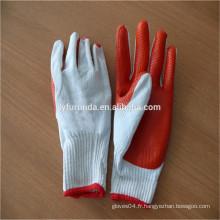 FURUNDA Chine fournisseur de gros gants de sécurité en caoutchouc de sécurité avec échantillon gratuit